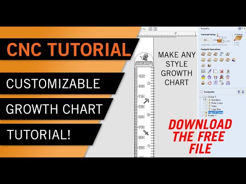 CNC Tutorial - DIY Custom Growth-chart