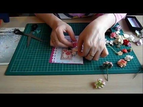 Как делают настоящие открытки ручной работы