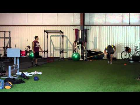 Trap bar deadlift at Ranfone Training Systems, Hamden CT from YouTube · Duration:  19 seconds