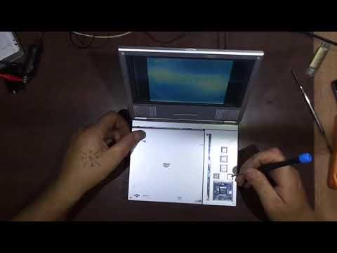 Ремонт портативного DVD прогрывателя Xvid
