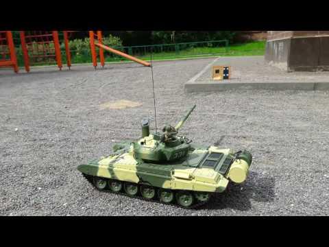 Ходовые испытания Т-72 от Деагостини