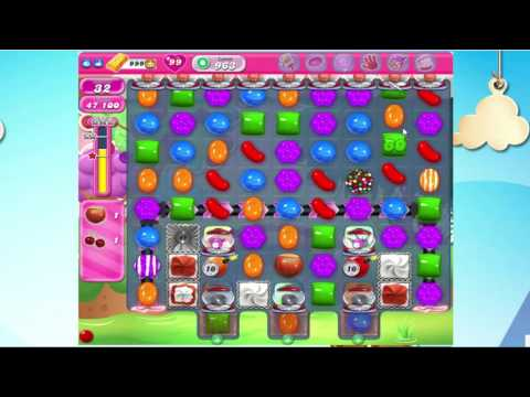 Candy Crush Saga level 963