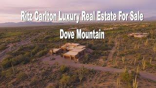 Tucson Arizona Luxury Real Estate For Sale Ritz Carlton at Dove Mountain