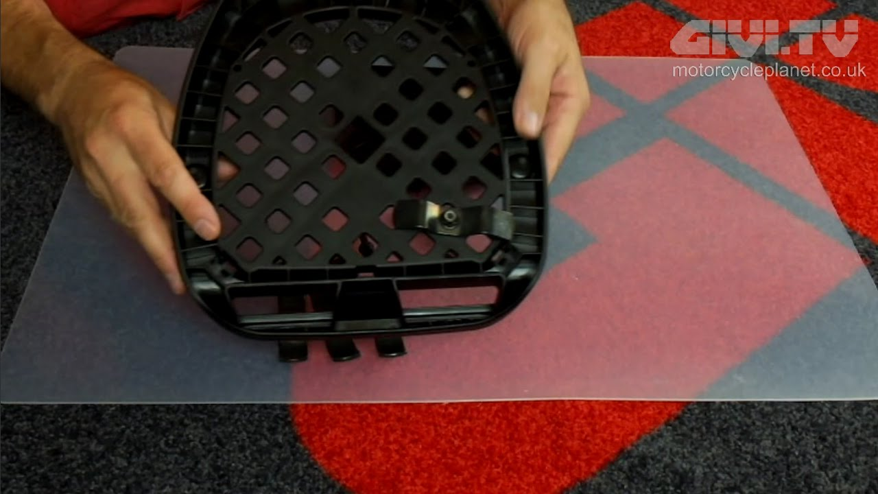 How To Fit A Universal Plate Which Comes With A Givi