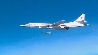 Массированный удар самолетами Дальней авиации по объектам инфраструктуры ИГИЛ в Сирии