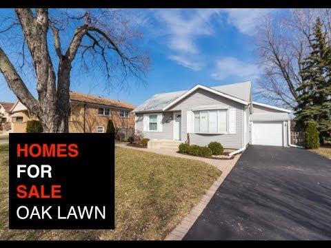 Homes for Sale in Oak Lawn Illinois