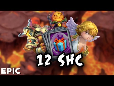 Castle Clash : Opening 12 Special Hero Card [shc Opening] ☆Amazing☆