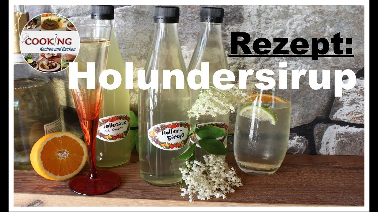 Selber zitrone ohne holunderblütensirup machen Zitronensirup selber