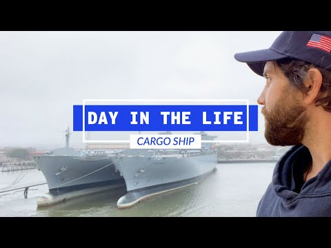 A Day In The Life Of A Cargo Ship Deck Officer | Life At Sea