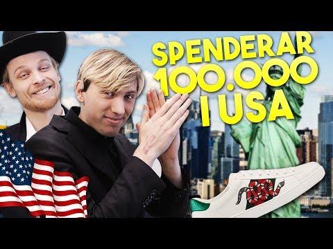 VI BRÄNNER 100.000 KR PÅ EN DAG