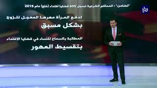 605 قضايا خلع في الأردن عام 2018  - (4-7-2019)