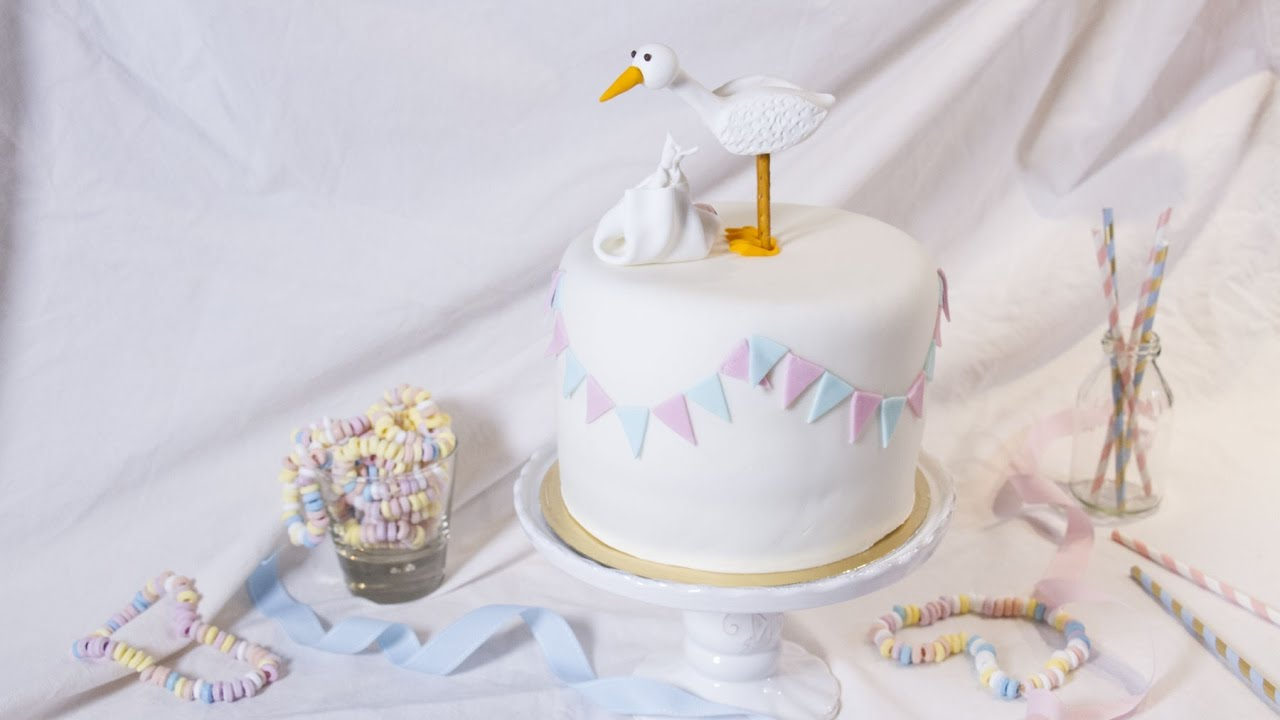 Faire Un Gateau Baby Shower Facile Youtube