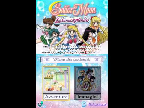 (NDS) Sailor Moon : La Luna Splende ~Intro