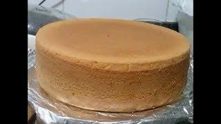 Aprenda a fazer massa de bolo com emulsificante