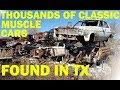 Discovering Forgotten Texas Classics! Johns Salvage -- Part 1