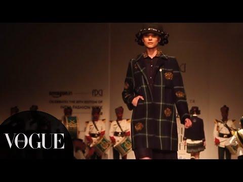 Fashion Fund Winner at Amazon India Fashion Week   Autumn/Winter 2015: Day 4   VOGUE India