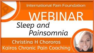 iPain Webinar: Painsomnia