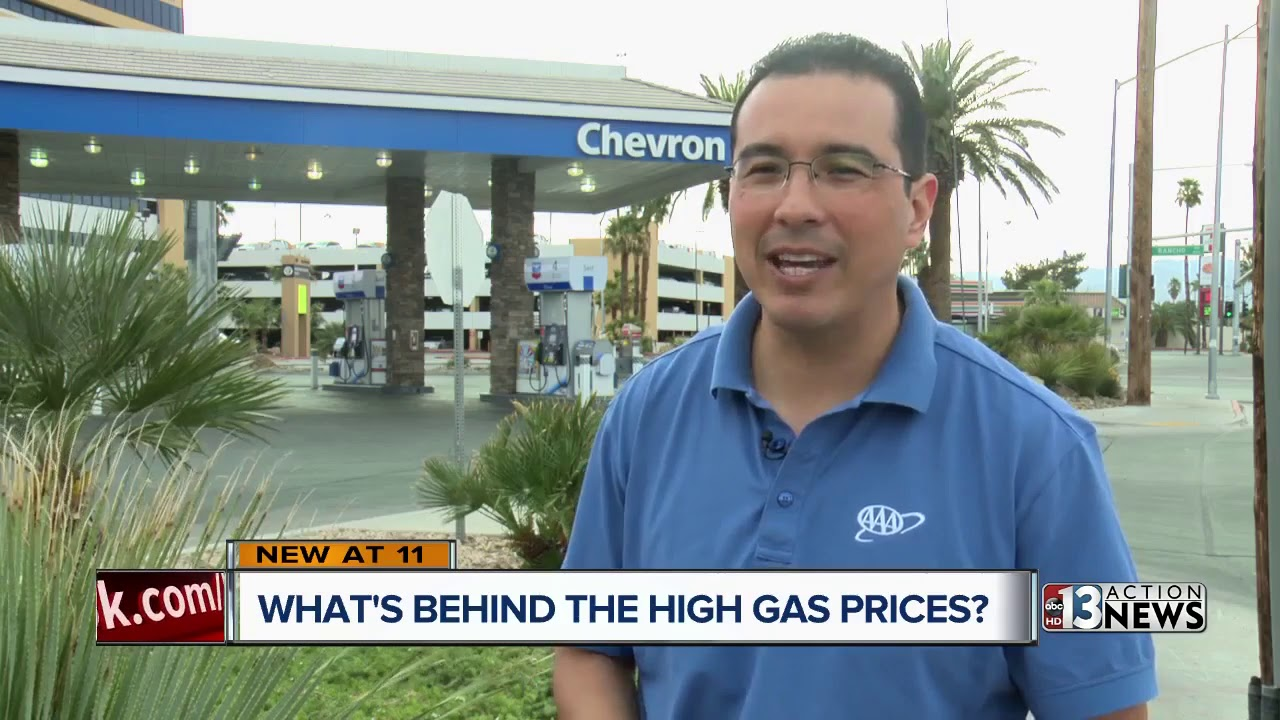 Las Vegas Gas Prices >> Higher Gas Prices In Las Vegas Tied To Higher Prices At The Pump In California