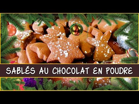 recette-des-biscuits-/-sablés-de-noël-au-chocolat-en-poudre