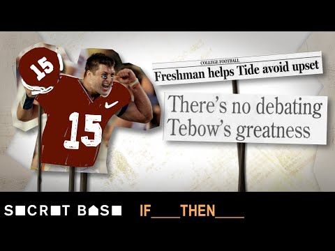 Tim Tebow's college choice altered 4 national titles & gave Alabama a dynasty | If Then