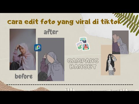 [GAMPANG BANGET] Cara Edit Foto Yang Viral Di Tiktok!! || Maulida Malikhah