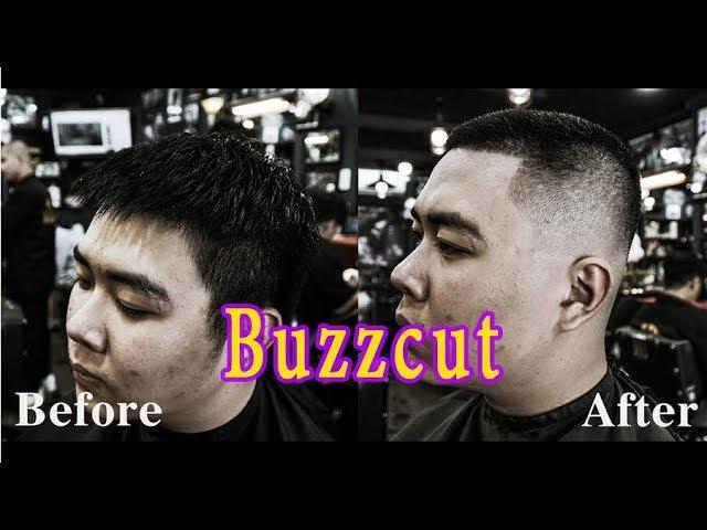 Chàng Trai Thi Đại Học 2019 Xong Lên Tóc Buzzcut | Barbershop Vũ Trí