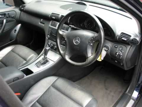 2005 mercedes benz c class c 200k avantgarde estate a t. Black Bedroom Furniture Sets. Home Design Ideas