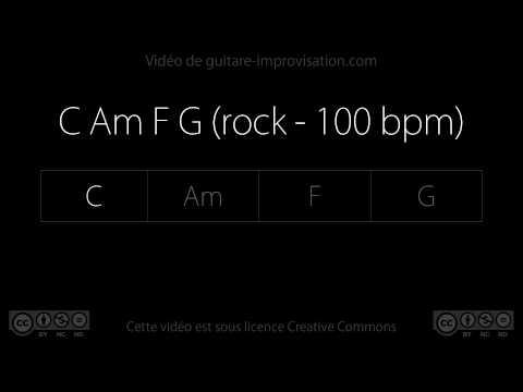 C Am F G (rock - 100 bpm) - Backing Track