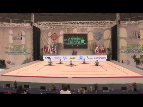 FRANCE - 2015 Aerobic Junior European Champions
