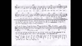 Tập guitar điệu Rumba Boléro NẮNG CHIỀU by n/s Phạm Duy & Thái Hiền 1978