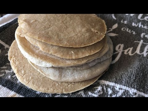 Oatmeal Tortillas