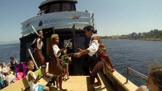 PIRATE BOAT MALLORCA - Family or PARTY Boat - You choose JULY 2016 GoPro HD
