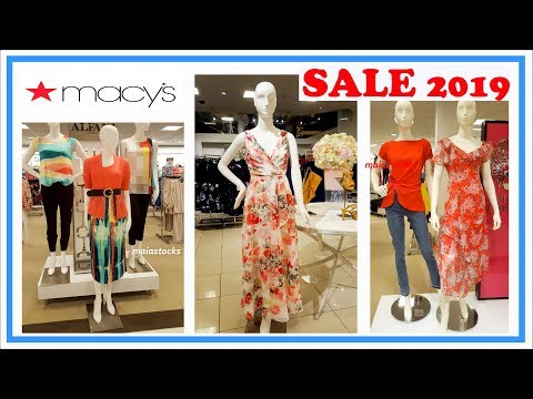 macys-dresses-and-ladies-wear-sale-i-shop-with-me-summer-2019