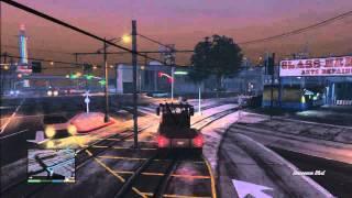 GTA V Missions: #8 Pulling Another Favor (Franklin)