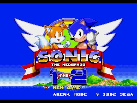 Sonic the Hedgehog 1 and 2 are available on the Sega Genesis Mini