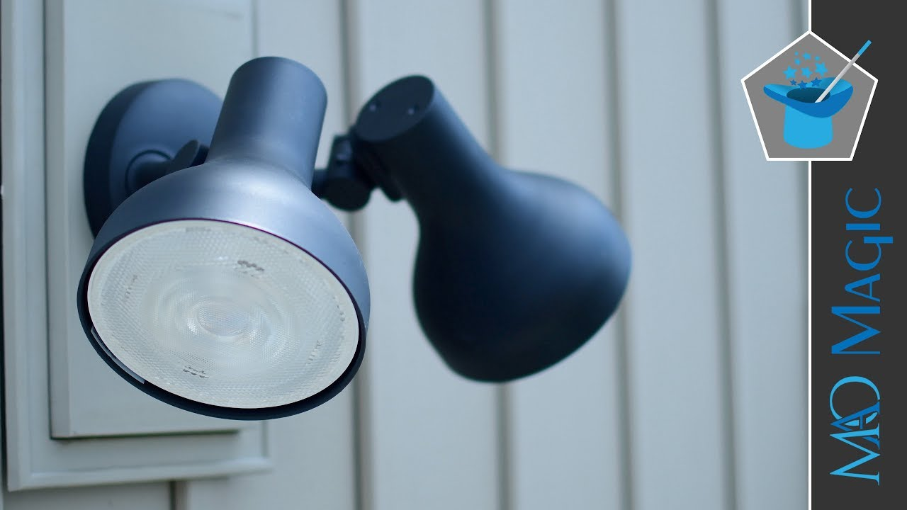 Philips Hue Ludere White Outdoor Security Light With Homekit Review