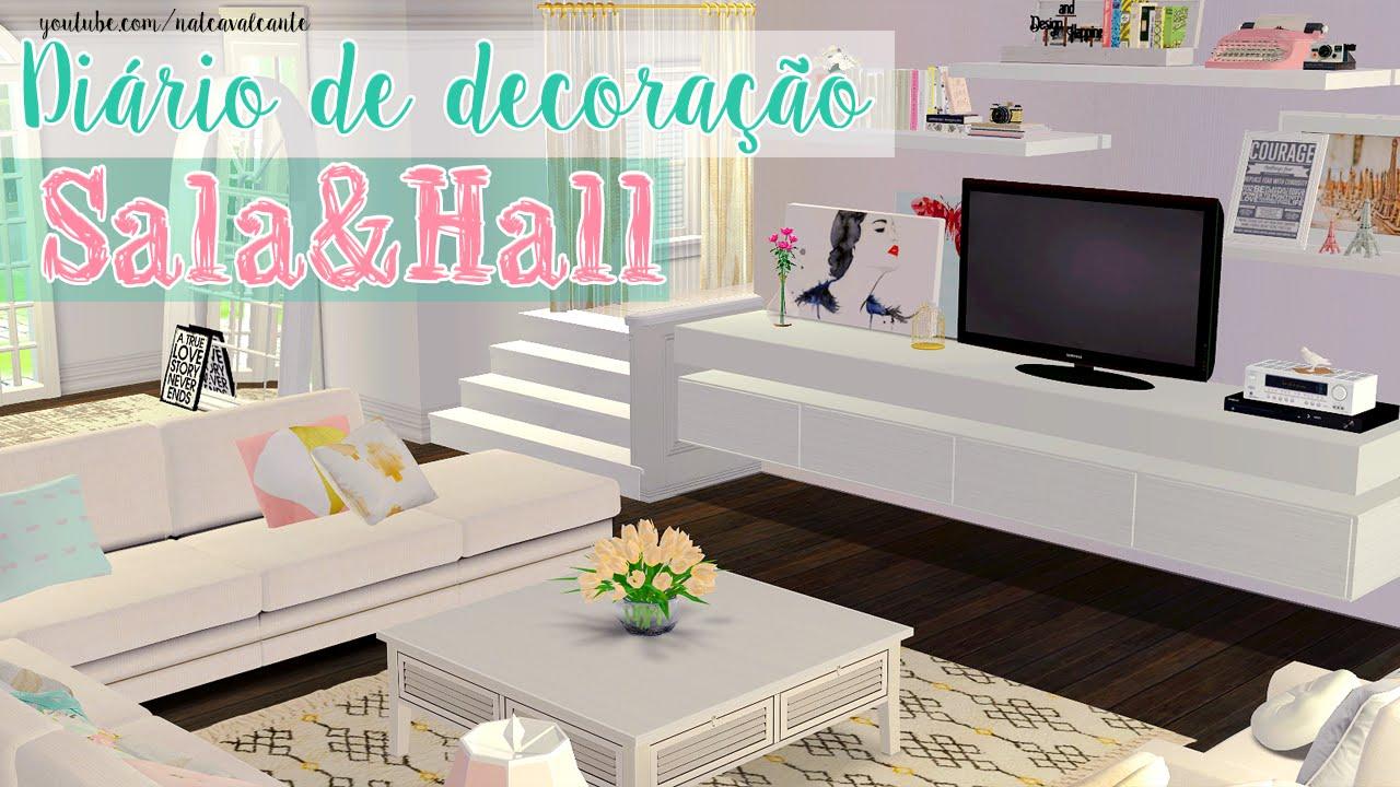 Diário De Decoração #1   Sala U0026 Hall + Dicas De Construção The Sims 2    YouTube Part 88