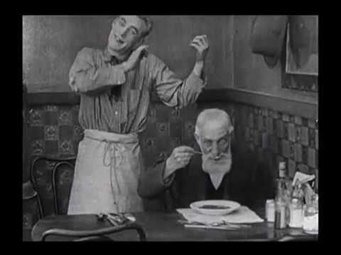 Fatty Arbuckle   Fooling Customers   The Waiters' Ball 1916