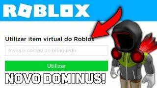 COMMENT À AVOIR ROBLOX'S NOUVEAU - DOMINUS !!!