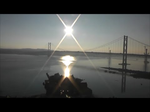 Beautiful Journey from Edinburgh to Dundee | Over Forth & Tay Bridges