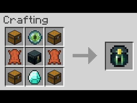10 SECRET ITEMS You Can Get in MINECRAFT!