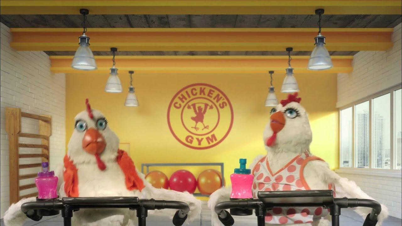 Publicidad do a gusta gallinas en el gimnasio youtube for El gimnasio