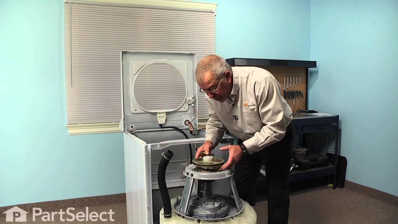 Washing Machine Repair Replacing The Snubber Ring