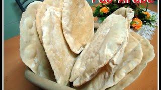 Receita original de Pão Árabe