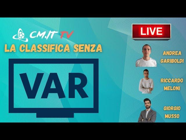 🔴CMIT TV - Classifica senza VAR, Juventus davanti all'Inter | Milan a +11 sul Napoli