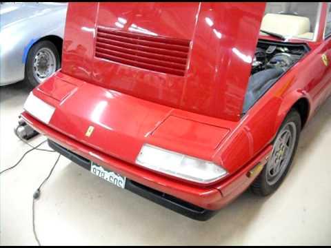 1989 ferrari 412 running exhaust sound youtube. Black Bedroom Furniture Sets. Home Design Ideas