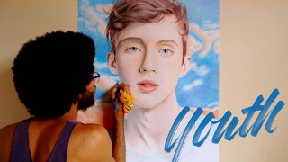 Desenhando Troye Sivan + Youth cover | Avenue Drawings