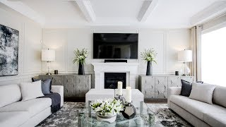 Family Room Makeover / Reveal - Kimmberly Capone Interior Design