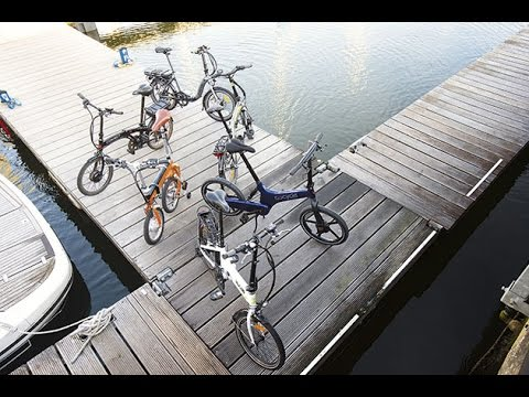 Electric folding bike group test | Motor Boat & Yachting
