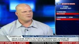 WWE Kane On Sky Sports